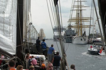 Hanse Sail - Gorch Fock